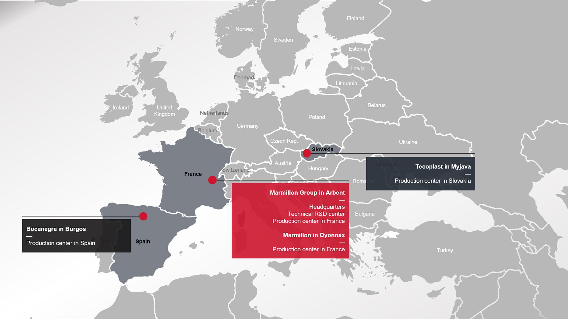 marmillon-group_locations_paragraph-01_european-map